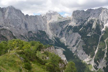 Vrsic-pas en Slemenova Spica