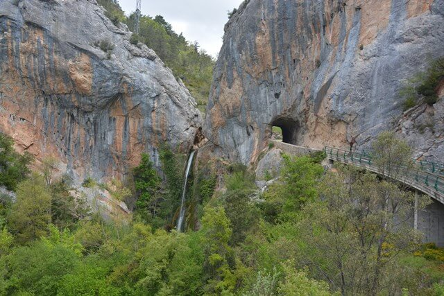 Tartales waterval - Burgos, Castilië en Leon Spanje bezienswaardigheden