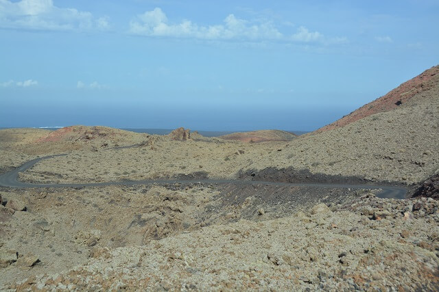 Nationaal park Timanfaya - Lanzarote
