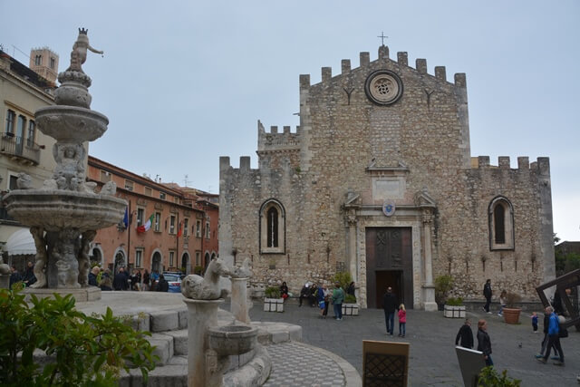 Duomo - Taormina - Sicilië bezienswaardigheden