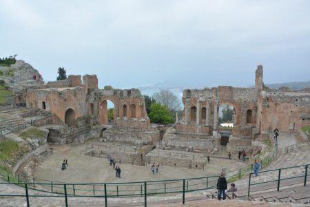 Griekse theater Taormina