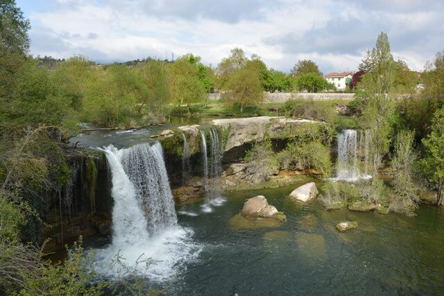 Tobalina waterval - Burgos, Castilië en Leon Spanje bezienswaardigheden