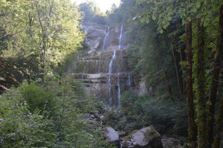 Watervallen van Hérisson