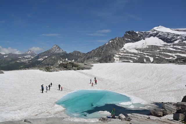 Weißsee Gletsjerwelt - Salzburgerland Oostenrijk