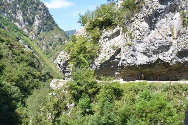 Bezienswaardigheden Asturië Spanje - Xanas kloof